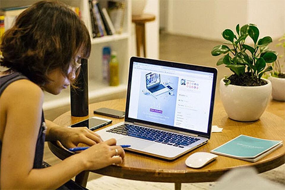 Estudiar en línea es posible